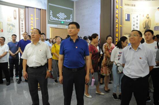 内蒙古计量院组织党员干部参观自治区廉政教育展览