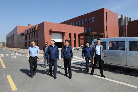 自治区发改委和生态环境厅领导到内蒙古计量院新..