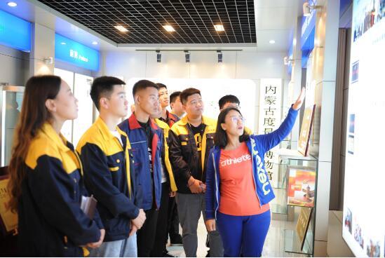 内蒙古机电职业技术学院学生到内蒙古自治区计量..